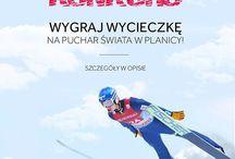 Konkurs - 4F to mój wybór! / Wejdź na: http://bit.ly/konkursPlanica i wygraj 5-dniową wycieczkę na Puchar Świata w skokach narciarskich w Planicy! :) Czekamy do 22 stycznia!