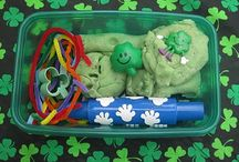 St. Patrick's Day....Playdough