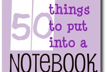 Notebooking / by A Teacher's Treasure Mrs. Zrihen