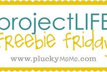 Projekt life printable
