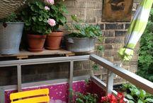 Tiny Balcony Design Ideas / Tiny Balcony Design Ideas / by Erwin Meester