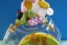 FIMO COVERED GLASS