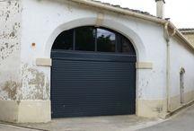 Porte de garage enroulable sur mesure - Nimes, Gard (30)