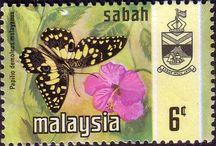 Malaya - Sabah Stamps