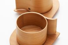 xicaras de madeira