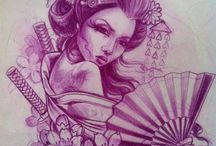 Tattoo Japan / #tattoo #geisha #japan