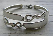 Armband aus Kuhengabeln