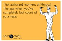 PT Humor / Funny pictures, meme's and quotes about physical therapy, working out, yoga etc.