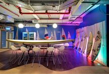 workplace wonderland / Only some of the coolest offices I've ever seen! I want to work there!  / by Aly Pink