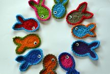 Crocheted critters and cup covers / by Trisha Salerno