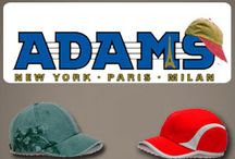 Adams / Fashion Headwear Born from an unwavering desire to create the finest headwear possible, our signature features continue to set the brand apart from the competition. Offering unmatched quality, colors, style selection and the latest retail trends to cover every market, at price points for every budget. Brand matters. Adams continues to satisfy even the most discerning headwear buyers http://www.raisingtrend.com/adams.html