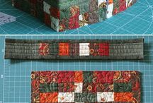 Fabric bags and boxes / Purses, totes, and boxe