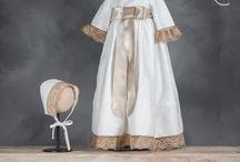 Bautizo / Preciosos trajes de Bautizo elaborados artesanalmente por la firma taracido