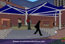 """3D Tensile Structure / Our company """"Ekra Decor Private Limited"""" is offer clients over 18 years of experience in the design, engineering, manufacturing and supplying of permanent fabric tensile structure . http://www.tensilefabricstructure.com/"""