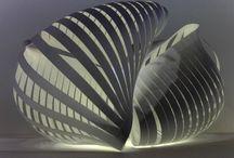 Paper Sculpture - Sculpture Unit 1
