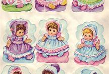 vintage swap sheets ftom the 1960s