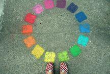 Rainbows and sunshine / by Samantha McDonald