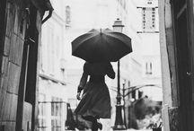 Umbrella?! / It's raining... Where's my umbrella?