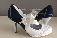 Tartan shoes / Tartan wedding shoes