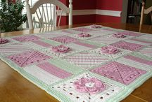 Crochet blankets - modern