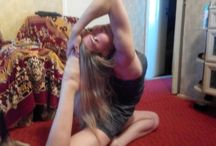 Yoga is our life!!! so live it like I do))) / While you are doing asanas at your best, you doing them perfectly ^_^