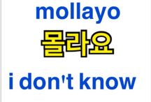 Learning Korean / by Kat Hallock