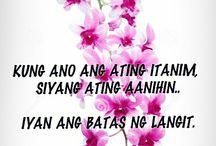 Tagalog inspiration