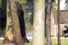 Maleri og akvareller