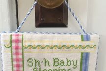 Needlepoint for Baby / Needlepoint gifts to stitch for baby and child