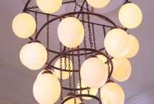 Ostrich Egg Chandeliers