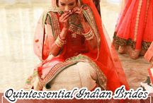 Quintessential Indian Brides / Everything about every Indian Bride