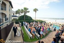 Lodge Weddings: Oceanfront (Venue) / Oceanfront Weddings at The Lodge & Club in Ponte Vedra Beach, Florida. www.pontevedra.com For more information, please contact Robin Schaal at rschaal@pvresorts.com / by The Lodge & Club
