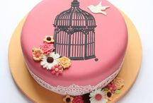 Stencilled Cakes