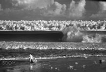 infrared landscape  photography / infrared black and white photography
