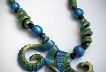 Polymery clay jewels  / Gioielli in paste sintetiche tipo il fimo, tutorial e creazioni a cui ispirarsi