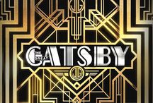 Great Gatsby Inspired / Art Deco influence from architecture, fashion to events