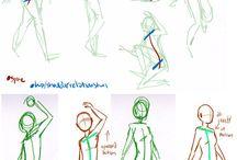 drawing gesture