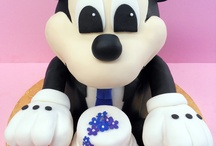 Heavenly Confections Groom's Cakes