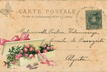 Vintage Post Cards / Série Flores