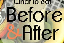 Food-Before & After Workout