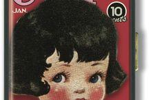 Images Vintage # Transfert / Plutôt branchée années 50 et toutes les illustrations représentant des enfants.