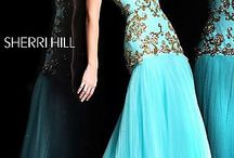 Strapless Gown by Sherri Hill 2973 / 550 USD