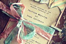 Invitasjoner/takkekort/bordkort