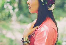 Floral crown style