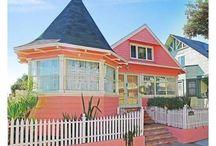 pink beachhouse