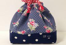 Bento bags / Handmade, original bento bags.