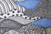 Kuvis: zentangle