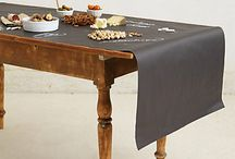On the Table / Creative ideas for table settings