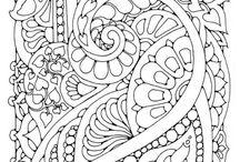 Malebog mønstre