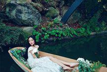 Floral Nature Fashion Shots